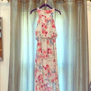 Flowy romantic hi lo dress  by Elle